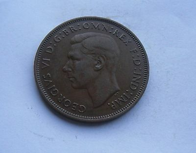 George VI,  1946 Penny, Excellent Condition.