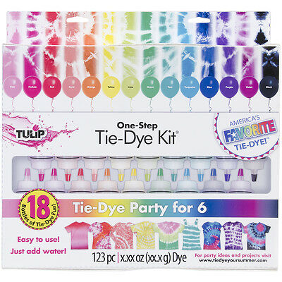 Tulip One-Step 18-Color Tie Dye Kit- 32378