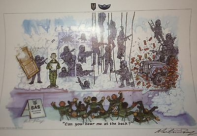 SAS/Special Forces Induction Course Cartoon Print