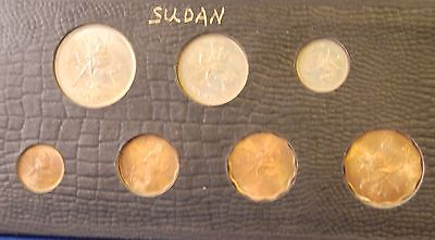 Sudan Coin Year Set  Not Sure What Year.