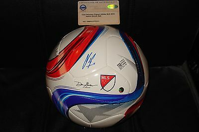 Clint Dempsey signed  Adidas soccer ball