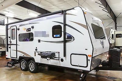New 2017 21FBRS Lightweight Slide Out Micro Lite Travel Trailer Camper For Sale