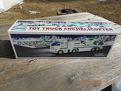 NEW in Box UNOPENED 2004 Hess truck & helicopter