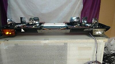 Vintage 48 Inch Streethawk Rotating Police/fire Light Bar By Federal Signal