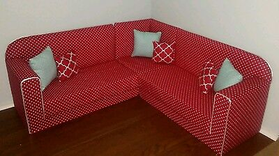 Made to fit American Girl Our Generation SECTIONAL SOFA furniture accesory