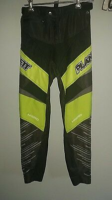 PLANET BMX RACING /RIDING PANTS SIZE 24 YOUTH free post