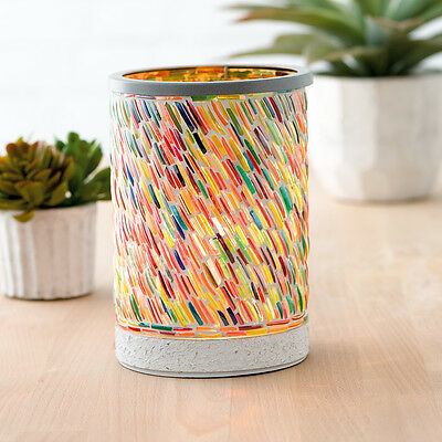 Brand New Scentsy Colors of the Rainbow  Deluxe Warmer Spring/Summer 2017