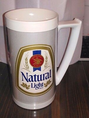 Natural Light Beer Thermo Mug / Stein - Anheuser Busch