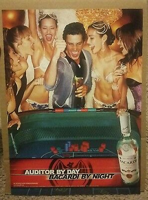 2002 Bacardi Superior Rum Ad Auditor by day