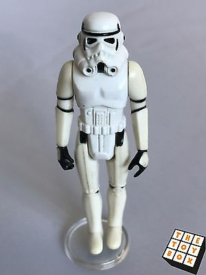 Vintage Star Wars ANH Stormtrooper Action Figure - very white