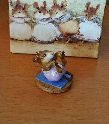 """Wee Forest Folk, M-260, """"Roly-Poly"""" lavender Mint"""