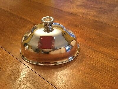 Antique English  Silver Meat Dome