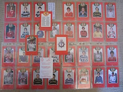 Welsh Rugby Union Squad cards 1982 South Wales Police Copcards