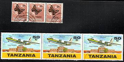 stamps TANZANIA A5