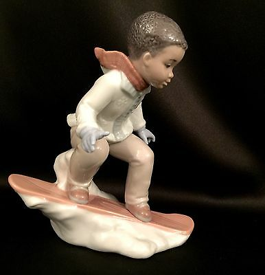 """~FREE FAST SHIPPING~Lladro """"This is Fun"""" (8263 Mint Condition) Adorable!"""