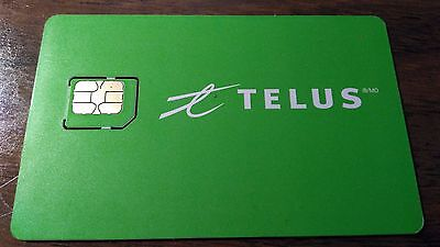Telus SimCard with $40 activation credit