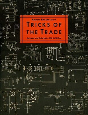 Radio Retailing's TRICKS OF THE TRADE - Antique Servicing - CD