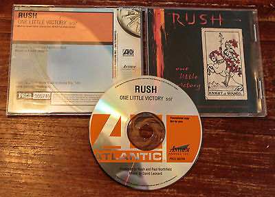 Rush Promo CD for One Little Victory