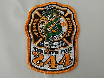 Toronto Fire Station 244 Patch ** NEW BATCH IN STOCK **