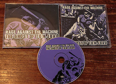 Rage Against the Machine RATM Promo CD for The Ghost of Tom Joad