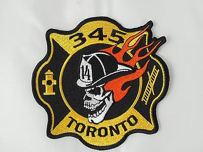 Toronto Fire Station 345 Patch ** NEWLY RERELEASED **