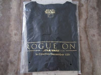 Rogue One: A Star Wars Story Promo T-Shirt Large L Official Genuine Promotional