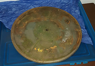 Old Phonograph Turntable 12 Inch Diameter
