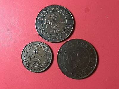 Hongkong 1 Cent world foreign coins lot Great condition high value