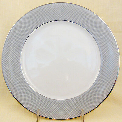 "GREY DAWN PLATINUM Block Spal Salad Plate 8"" diameter NEW NEVER USED Portugal"