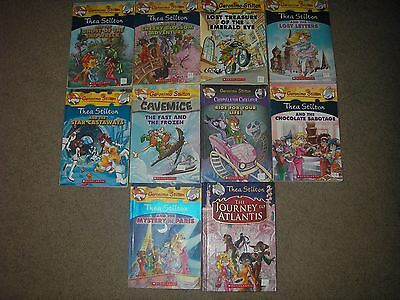 10 Scholastic Books Thea Stilton Chapter Third Grade Accelerated Readers Lot Set