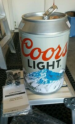 coors light mini fridge ,hot or cold