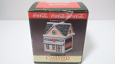 Coca-Cola Coke Canister Collection Variety Store Advertising Christmas Gift