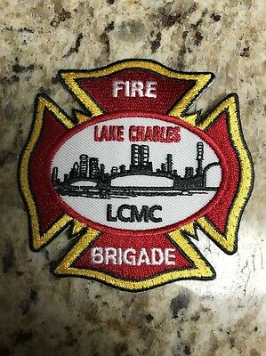 """ConocoPhillips Lake Charles Refinery Fire Brigade Sew On Patch 3""""x3"""""""