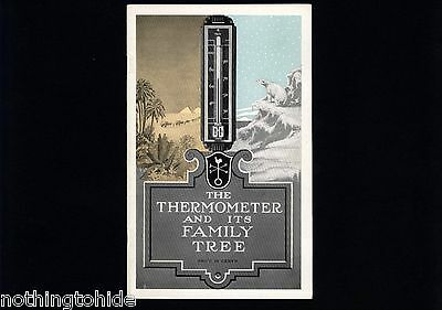 Taylor Instrument Companies 1936 Thermometer Brochure