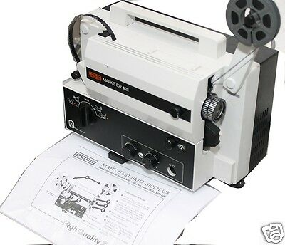 """Eumig Sound Mark S 802 super8mm projector. I only sell"""" The BEST"""" must see...."""