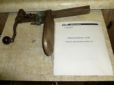 Vintage*Edlund Co.*Commercial Can-Opener*1925*92+ Years Old*Rare*Collectable*NR!