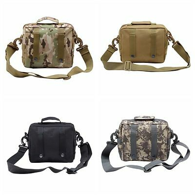 Outdoor Military Tactical Waist Pack Shoulder Bag Nylon Camping Hiking Pouch Bag