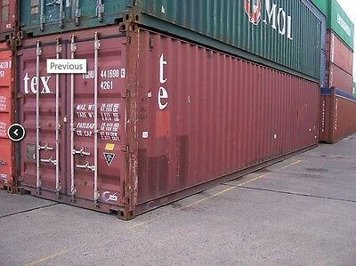 Cargo Worthy 40FT Shipping Container Ex Brisbane