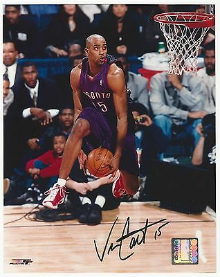 VINCE CARTER Signed Auto 8x10 Photo Original Autograph Vinsanity