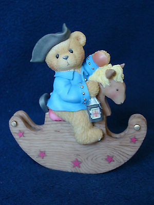 Cherished Teddies - Paul - Boy On Rocking Horse Special Issue - 676888 - 2000