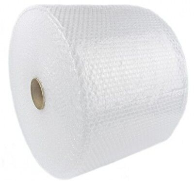 "BUBBLE + WRAP 175 Ft x 12"" x 3/16"" Small Bubbles Perforated Padding Moving Roll"
