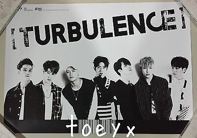 Got7 Turbulance Thailand Edition Official Unfolded Poster