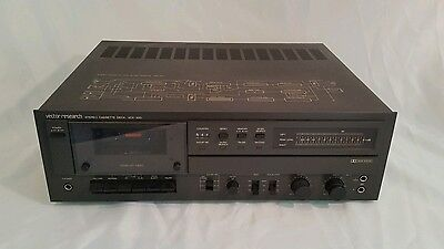 Vintage Vector Research Stereo Cassette Deck VCX-300 Cassette Recorder WORKING!