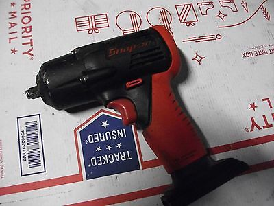 """SNAP-ON CT4410A CORDLESS IMPACT WRENCH , 3/8"""",WORKS WELL.  14.4 volt ,BARE TOOL."""