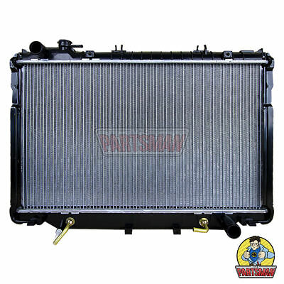 Radiator HD 36mm Core Man & Auto Diesel Toyota Landcruiser 80 Series 1/90-1/98