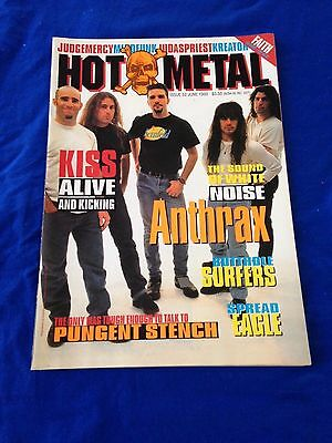 HOT METAL - Issue 52 - Australian Heavy Metal Magazine June 1993