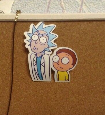 "Rick and Morty Vinyl Decal Sticker (2""x 3"")"