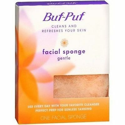 BRAND NEW SEALED Buf-Puf Facial Sponge Gentle - Free Postage