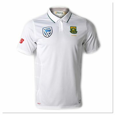 South  Africa Proteas Cricket Test  Replica Jersey Polo Size M BNWT Free Postage