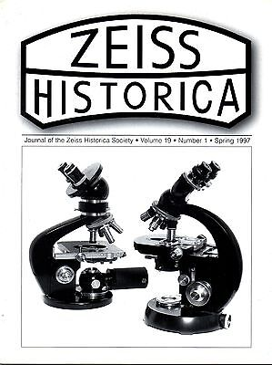 ZEISS HISTORICA_The Journal of the Zeiss Historica Society _ Vol 19 -1 _ 1997